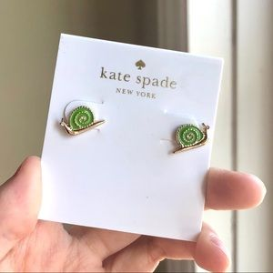 Kate Spade Snail Stud Earrings